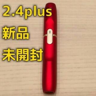 アイコス 2.4plus ホルダー レッド 新色 限定 限定カラー 新品