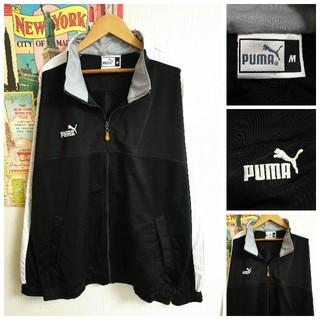 プーマ(PUMA)のPUMA 個性派古着スポーツmixトラックジャケット 長袖ゆるだぼジャージ(ジャージ)