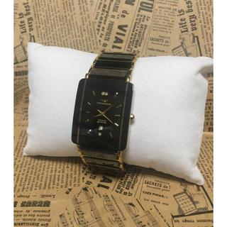 テクノス(TECHNOS)のテクニクス ブラックボード レディース(腕時計)