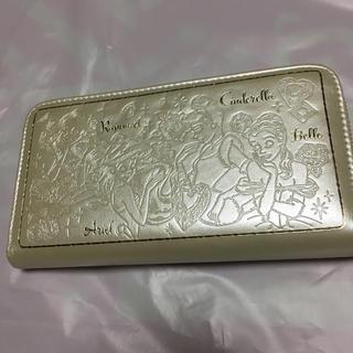 ディズニー(Disney)のディズニーロングウォレット(ホワイトパール)(財布)