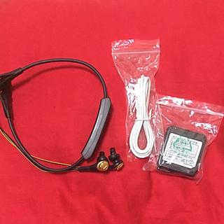オーディオテクニカ(audio-technica)のBluetooth イヤフォン マイク付き(ヘッドフォン/イヤフォン)
