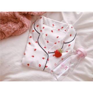 ジーユー(GU)のGU いちごパジャマ(パジャマ)