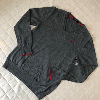 バーバリーブラックレーベル(BURBERRY BLACK LABEL)のバーバリーブラックレーベル Vネックセーター(ニット/セーター)