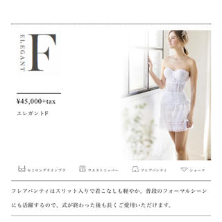 セモア  【美品】ブライダルインナー  D65 64 (ブライダルインナー)