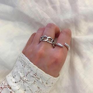 シルバー925 カーブサークルring  アサミフジカワ 好きな方も(リング(指輪))