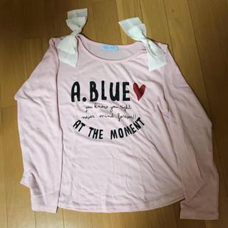 エンジェルブルー(angelblue)のAngelBlue カットソー 160センチ(Tシャツ/カットソー)