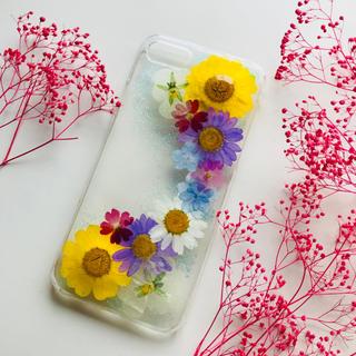No.1 押し花 スマホケース iPhoneケース アイフォンケース(スマホケース)