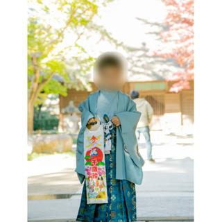 七五三 袴セット 男の子 5歳(和服/着物)