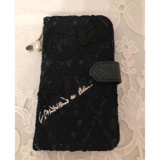 ランバンオンブルー(LANVIN en Bleu)のランバンオンブルー ☆ 携帯カバー ケース ネイビー(iPhoneケース)