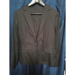 グリーンレーベルリラクシング(green label relaxing)の洗濯OK ユナイテッドアローズ テーラード ジャケット ブラック Lサイズ(テーラードジャケット)