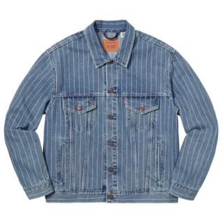 シュプリーム(Supreme)のSupreme Levi's Pinstripe Trucker Jacket(Gジャン/デニムジャケット)