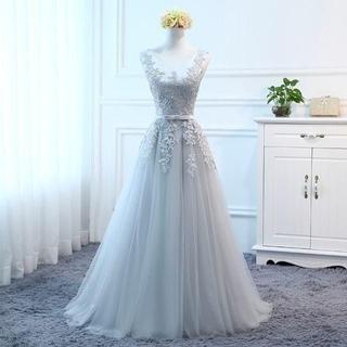 新品ドレス 二次会 音楽会 発表会パーティードレス ブライズメイドドレス 結婚式