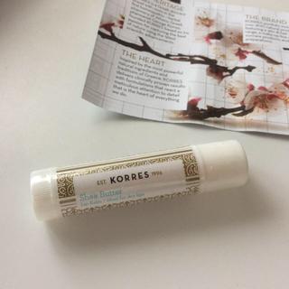 KORRESのシアバター入りリップクリーム 新品未開封(リップケア/リップクリーム)