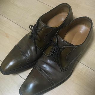 ステファノブランキーニ(STEFANO BRANCHINI)のステファノブランキーニ 革靴 ストレートチップ 71/2 25.5 26.0(ドレス/ビジネス)