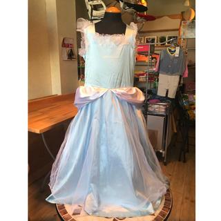 ディズニー(Disney)のキッズ ハロウィンコスプレ シンデレラ110-120cm(衣装一式)
