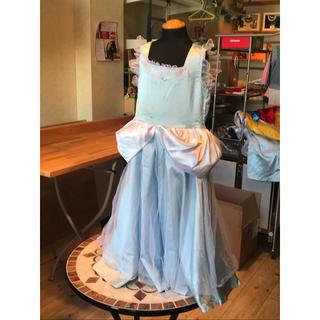 ディズニー(Disney)のキッズ ハロウィンコスプレ シンデレラ100-110cm(衣装一式)