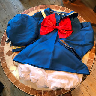 ディズニー(Disney)のキッズ ハロウィンコスプレ ドナルド110cm(衣装一式)