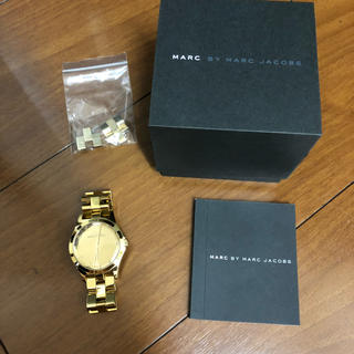 MARC BY MARC JACOBS - BY MARC JACOBS ゴールド腕時計