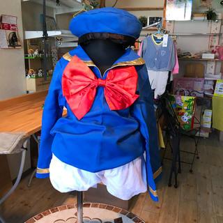 ディズニー(Disney)のキッズ ハロウィンコスプレ ドナルド☆120cm(衣装一式)
