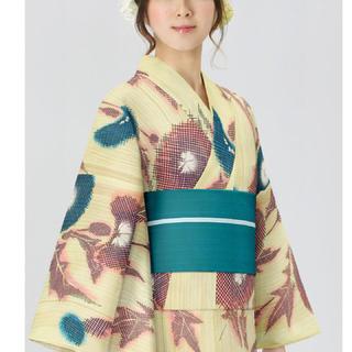 新品 未使用 Tokyo135° オリジナル浴衣「モザイクあざみ」