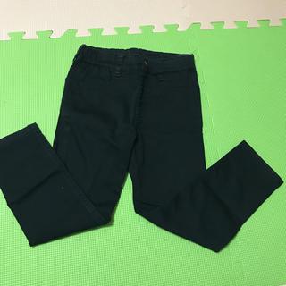 ジーユー(GU)のブラック 長ズボン 110センチ(パンツ/スパッツ)