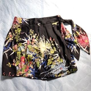 ザラ(ZARA)のザラ ZARA ラップスカート ミニスカート 巻きスカート(ミニスカート)