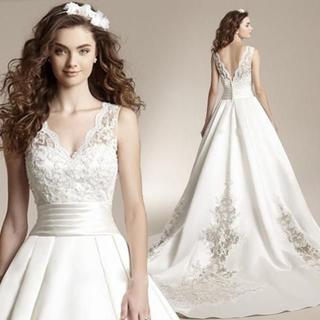 二次会ドレス レディース服 結婚式パーティードレス花嫁 披露宴ドレス