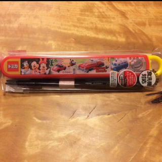 ディズニー(Disney)の箸&箸ケース(弁当用品)