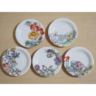 Disney - 小皿 新品 未使用 不思議の国のアリス アリス ディズニー