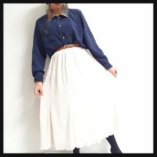 売りきりSALE//ゆるふわウェーブ加工スカート♥*(ロングスカート)