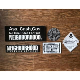 ネイバーフッド(NEIGHBORHOOD)のNEIGHBORHOOD ステッカー5枚セット(その他)
