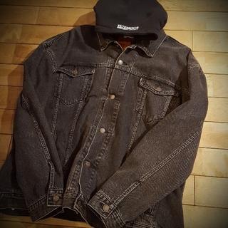 Vetements x Levi's hooded denim jacket(Gジャン/デニムジャケット)