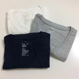 ムジルシリョウヒン(MUJI (無印良品))の無印良品 Tシャツ3枚セット(Tシャツ(半袖/袖なし))
