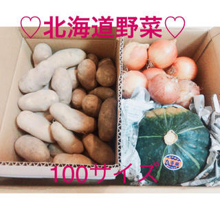 大人気!北海道十勝野菜詰め合わせセット♡メークイン、ホクホクかぼちゃ、甘い玉ねぎ