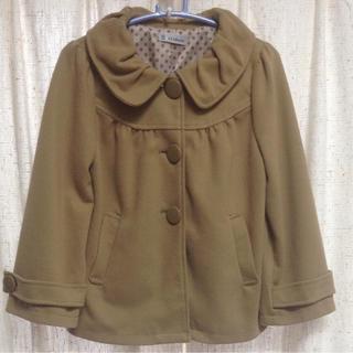 シマムラ(しまむら)のMサイズ ショート丈コート キャメル(その他)