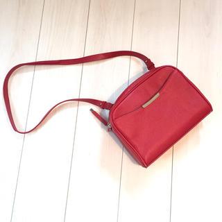 ザラ(ZARA)のザラ ショルダーバッグ 赤 ハンドバッグ (ショルダーバッグ)