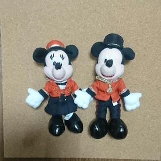 ディズニー(Disney)のミラコスタ限定★ミッキーミニーバッチ(ぬいぐるみ)