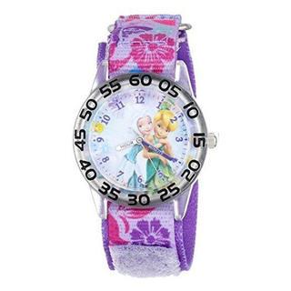 ディズニー(Disney)の新品 Disney キッズウォッチ マジックテープ ベルト W001187(腕時計)