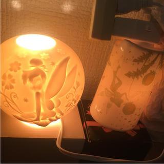 ディズニー(Disney)のティンカーベル アロマ フィギュア 陶器(キャラクターグッズ)