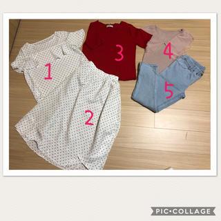 シマムラ(しまむら)の個別選択可能 カジュアル服 (カジュアルパンツ)