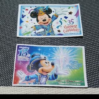ディズニー(Disney)のディズニーチケット 使用済(遊園地/テーマパーク)