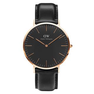 ダニエルウェリントン(Daniel Wellington)の【40㎜】ダニエル ウェリントン腕時計〈DW00100127〉ローズゴールド(腕時計)