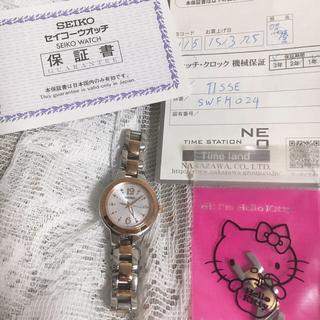 セイコー(SEIKO)のティセ  セイコー SEIKO 腕時計 ソーラー電池 電波時計(腕時計)