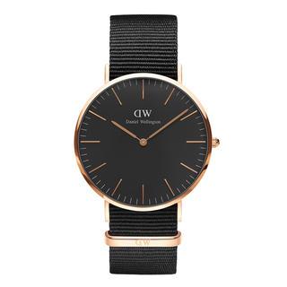 ダニエルウェリントン(Daniel Wellington)の【40㎜】ダニエル ウェリントン腕時計〈DW00100148〉ローズゴールド(腕時計)