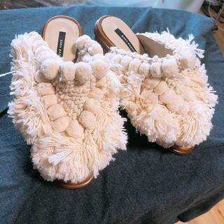 ZARA - ZARA サボ  風 サンダル 靴