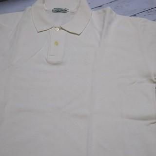 近日処分★ポロシャツ 白半袖→サイズ3L(ポロシャツ)
