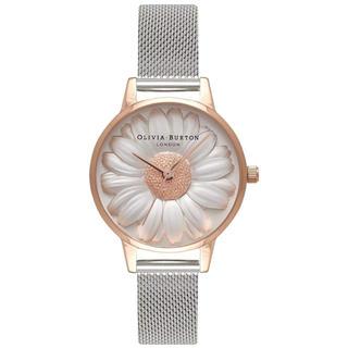 ダニエルウェリントン(Daniel Wellington)の【30㎜】オリビアバートン腕時計 OB16FS94〈ローズゴールド×シルバー〉(腕時計)