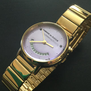 カバンドズッカ(CABANE de ZUCCa)の定価1.8万美品《カバンドズッカ》レディース稼動 腕時計(腕時計)