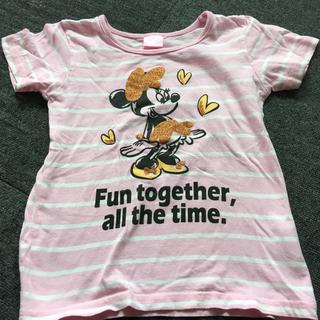 ディズニー(Disney)の120㎝     ミニーちゃん   Tシャツ(Tシャツ/カットソー)