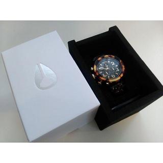 ニクソン(NIXON)の新品★NIXONニクソンA037-679A037679★レディースべっ甲1年保証(腕時計)